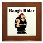 Rough Rider Framed Tile