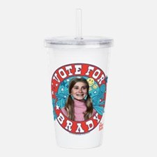 The Brady Bunch: Vote Acrylic Double-wall Tumbler