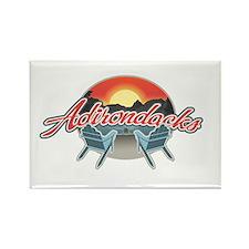 Threedown Adirondack Rectangle Magnet