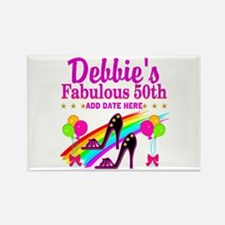 50TH BIRTHDAY Rectangle Magnet (100 pack)