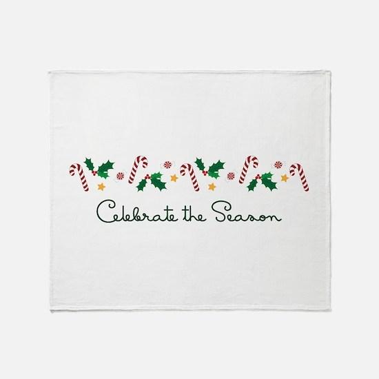 Celebrate The Season Throw Blanket