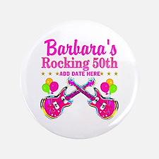 50TH BIRTHDAY Button