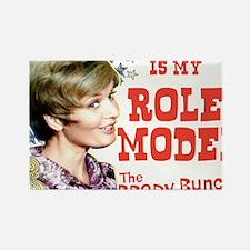 Mrs. Brady Is My Role Model Rectangle Magnet