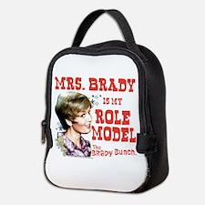 Mrs. Brady Is My Role Model Neoprene Lunch Bag