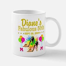50TH BIRTHDAY Small Mugs