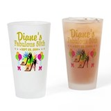 50th birthday for women Pint Glasses