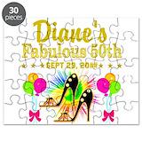 Happy 50th birthday Puzzles