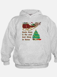 Santa claus vs Nonno Hoodie