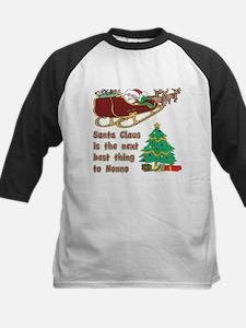 Santa claus vs Nonno Kids Baseball Jersey
