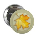 "Sugar Maple Leaf 2.25"" Button (100 pack)"