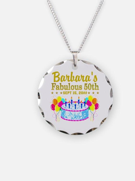 50Th Birthday 50th Birthday Jewelry