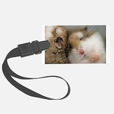 Cute Hamster Luggage Tag