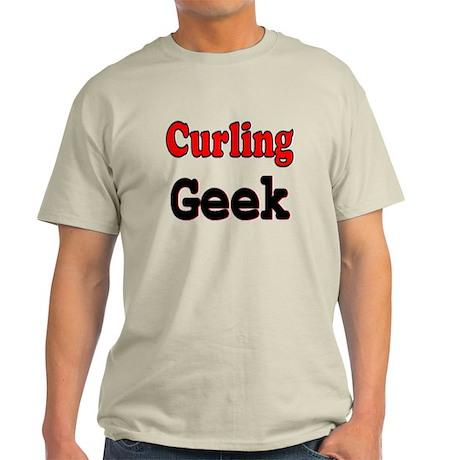 Curling Geek Light T-Shirt