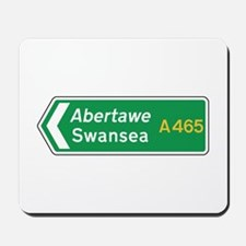 Swansea Roadmarker, UK Mousepad