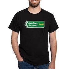 Swansea Roadmarker, UK T-Shirt