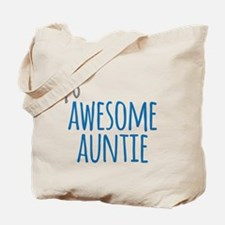 Awesome Auntie Tote Bag