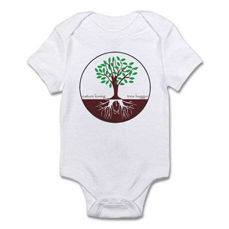 Nature Loving Tree Hugger Infant Bodysuit