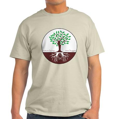 Nature Loving Tree Hugger Light T-Shirt