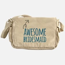 Awesome Bridesmaid Messenger Bag
