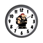 Rough Rider Wall Clock