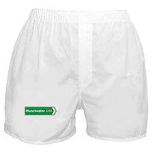 Manchester Roadmarker, UK Boxer Shorts