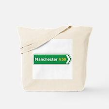 Manchester Roadmarker, UK Tote Bag