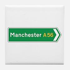 Manchester Roadmarker, UK Tile Coaster