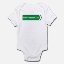 Manchester Roadmarker, UK Infant Bodysuit
