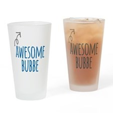 Awesome Bubbe Drinking Glass