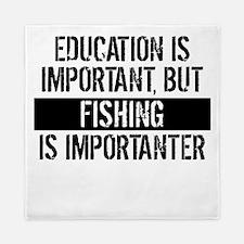 Fishing Is Importanter Queen Duvet