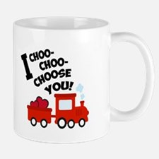 Choo-Choo Valentine Train Mugs