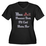 When Hell Freezes Over 2 Women's Plus Size V-Neck