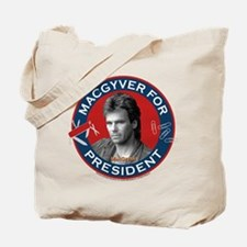 MacGyver For President Tote Bag