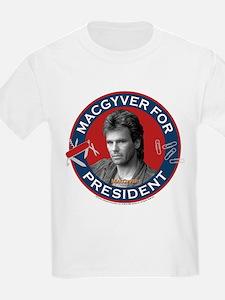 MacGyver For President T-Shirt