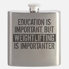 Weightlifting Is Importanter Flask