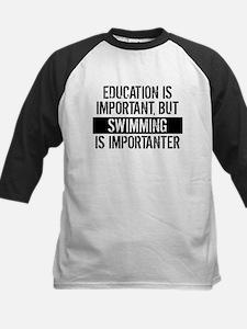 Swimming Is Importanter Baseball Jersey