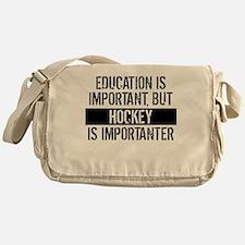 Hockey Is Importanter Messenger Bag