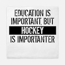 Hockey Is Importanter Queen Duvet