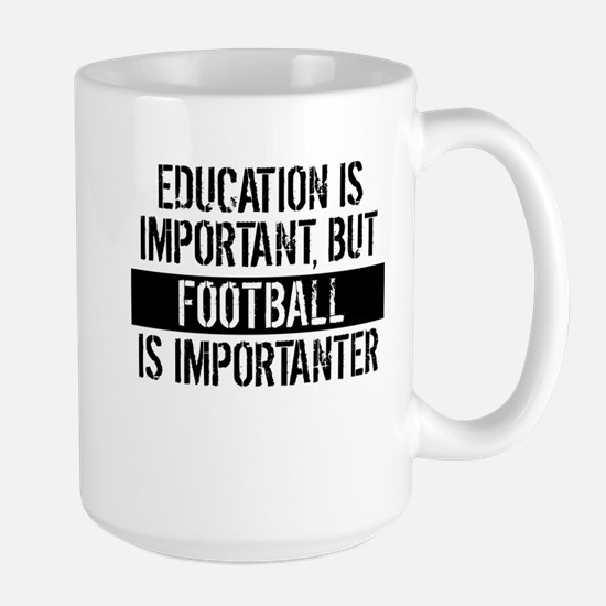 Football Is Importanter Mugs