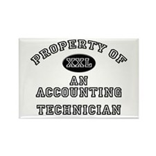 Property of an Accounting Technician Rectangle Mag