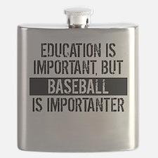 Baseball Is Importanter Flask