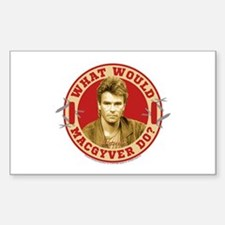 What Would MacGyver Do? Decal