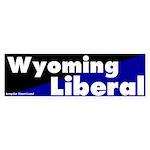 Wyoming Liberal Bumper Sticker
