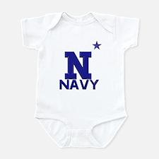 US Naval Academy Light Infant Bodysuit