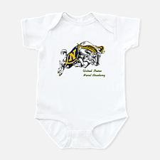 US Naval Academy Logo Infant Bodysuit
