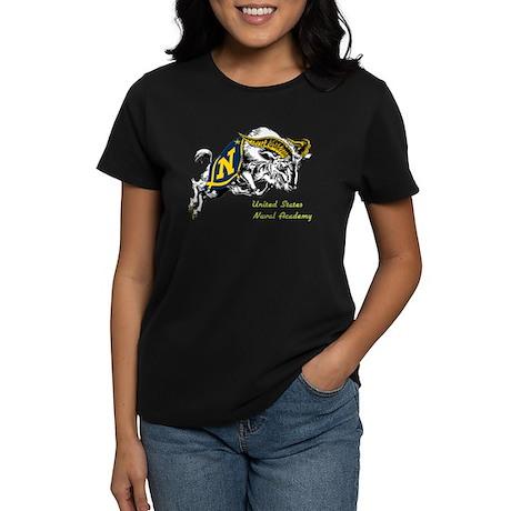 USNA Logo Women's Dark T-Shirt