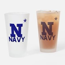 US Naval Academy Drinking Glass