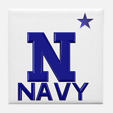 US Naval Academy Tile Coaster