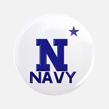 "US Naval Academy 3.5"" Button"