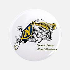 """USNA Logo 3.5"""" Button"""